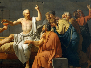 ソクラテスの毒杯の図
